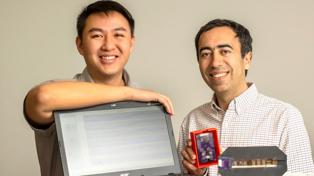 Image of Daniel Fong (left) and Soheil Ghiasi (right)